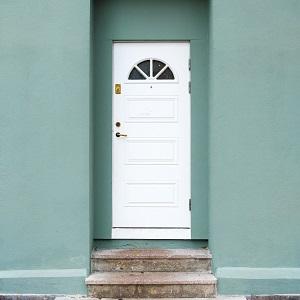 Foto einer Eingangstür