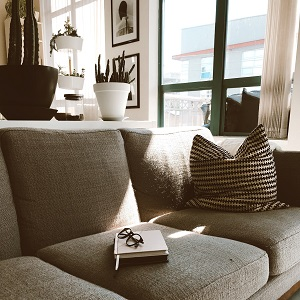 Gemütliche Couch - Marketing für den privaten Verkauf Ihrer Immobilie